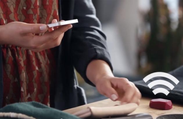 Предоставление сведений о товаре на смартфоне клиента