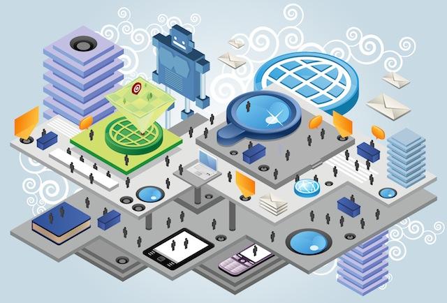 Электронная карта на технологии iBeacon